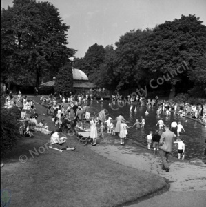 Harrogate, Valley Gardens, Children's Pool